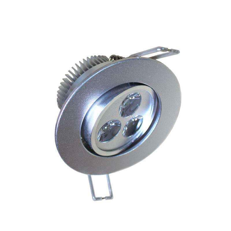 Downlight LED VIK 3W. Réglable, Blanc froid, Regulable